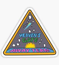 Heaven's Gate (Cartoon Version) Sticker