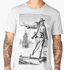 The pirate Anne Bonney / Anne Bonny (1697-1720) Men's Premium T-Shirt