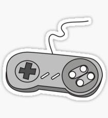 SNES Controller Nostalgia Sticker