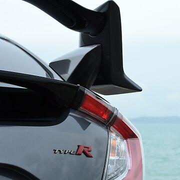 Honda Civic Type R wing by lizdomett