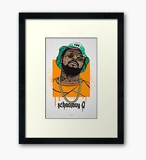 SchoolboyQ Framed Print