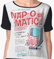 Nap-O-Matic Women's Chiffon Top