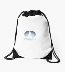 Clarion logo Drawstring Bag