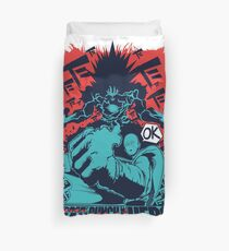 One Man One Punch One Hero Duvet Cover