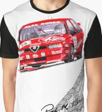 Rallyist BTCC Alfa 155 Graphic T-Shirt