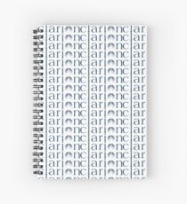 Clarion extended logo Spiral Notebook