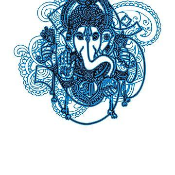 Ganesh by beanzomatic