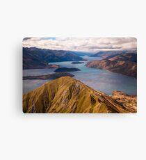 Roys Peak New Zealand Canvas Print