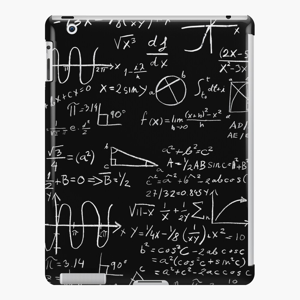 Math iPad Case & Skin