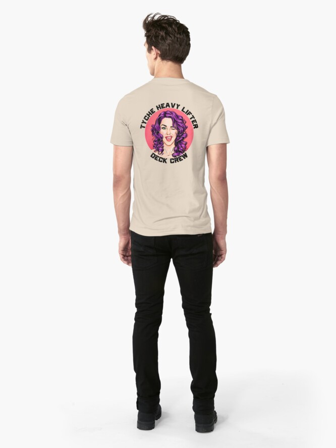 Alternate view of Tyche Deck Crew Represent Slim Fit T-Shirt