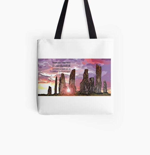 Craigh Na Dun Quote - Outlander.  All Over Print Tote Bag