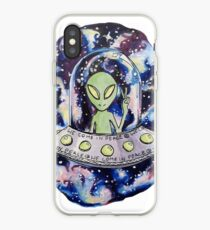 We come in peace iPhone Case