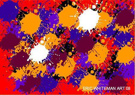 ( NEW TYPE OF MADNESS ) ERIC WHITEMAN  ART  by eric  whiteman