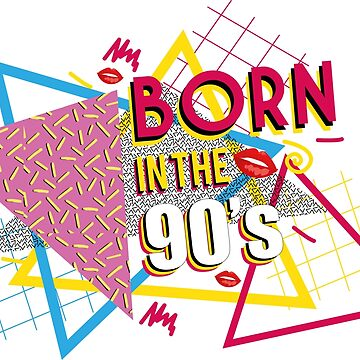 Born in the 90's by caitdesign