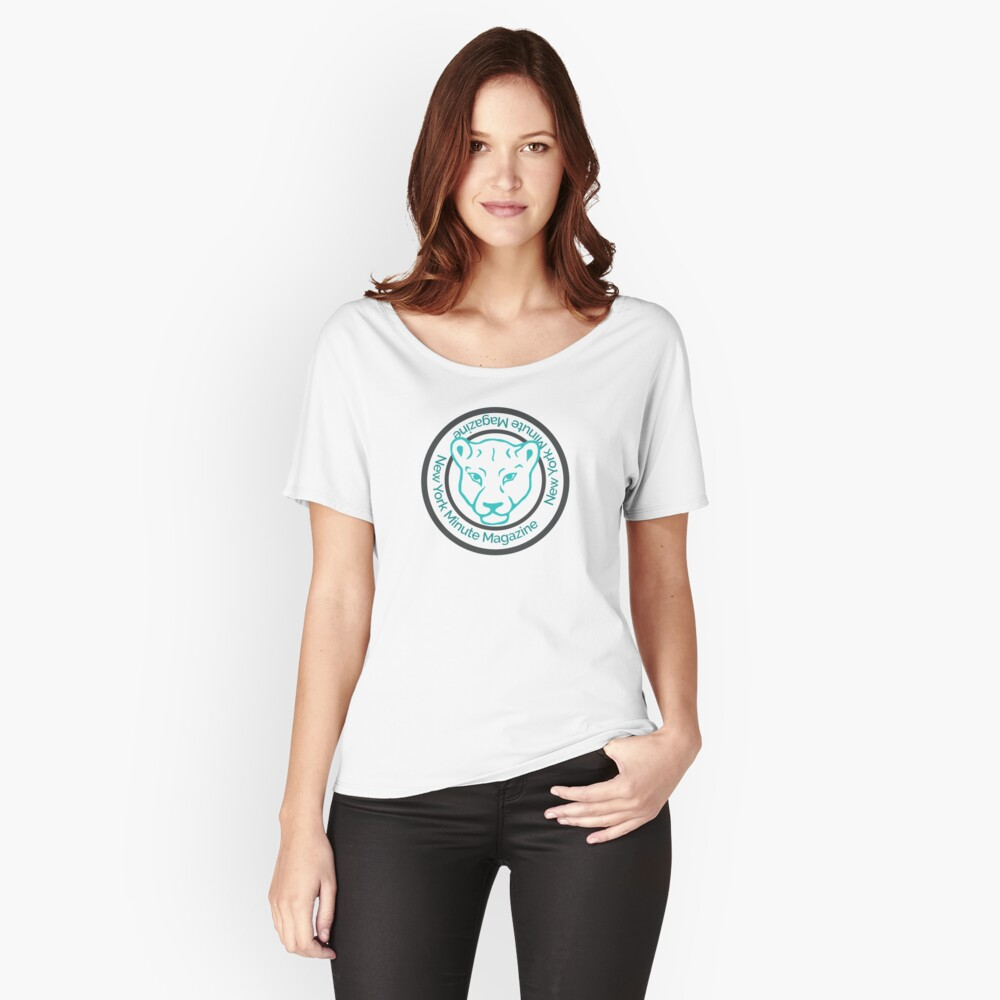 Blue Lioness Emblem Relaxed Fit T-Shirt