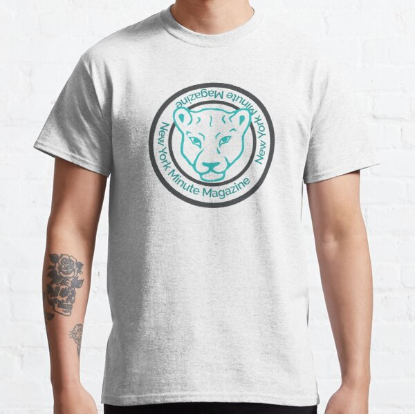 Blue Lioness Emblem Classic T-Shirt