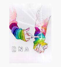 Lámina fotográfica BTS 방탄 소년단 - ADN