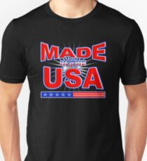 Made In America American USA Patriot Pride T-shirt T-Shirt