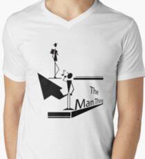 The man thing Men's V-Neck T-Shirt