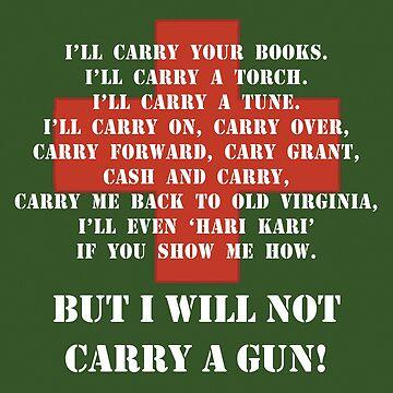 """M*A*S*H """"I will not carry a gun"""" by Rosenten"""