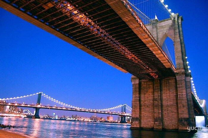Brooklyn bridge by yuca