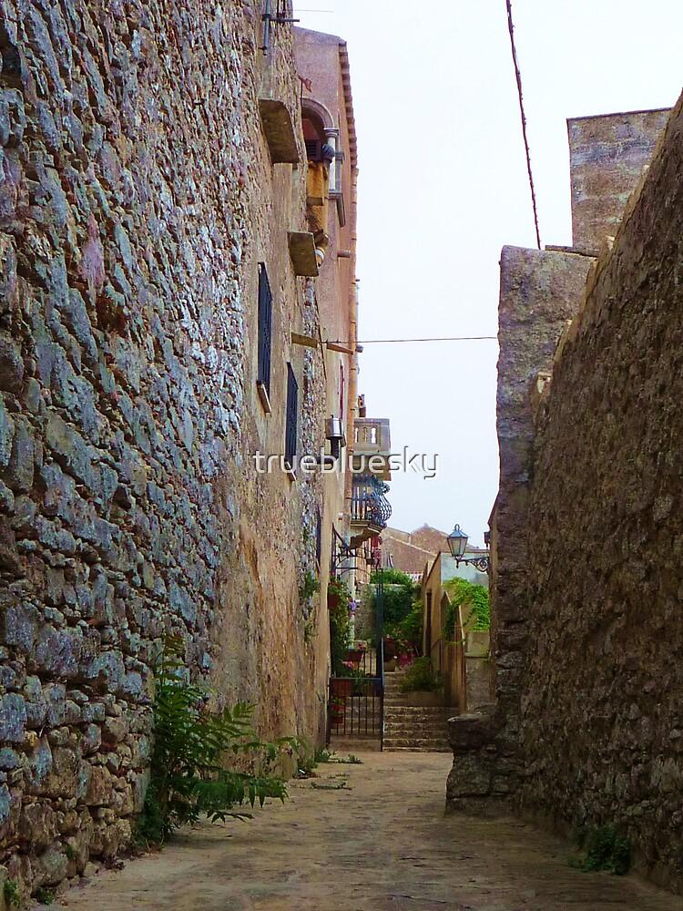Alley to Somewhere by truebluesky