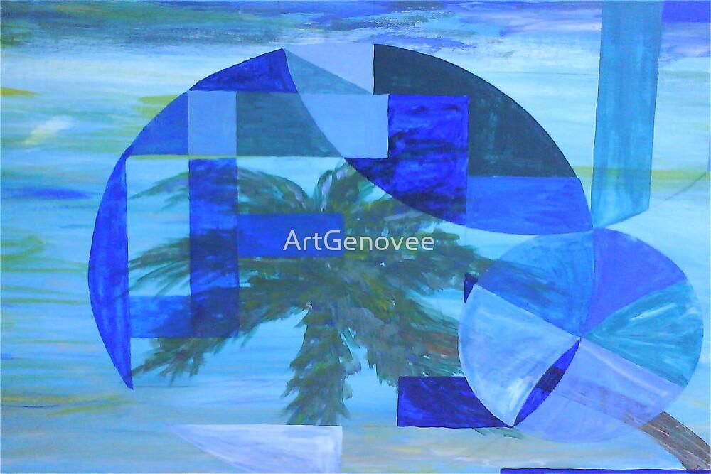 3D Palm by ArtGenovee