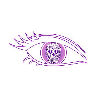 Day Of The Dead All Seeing Eye by lilypadsales