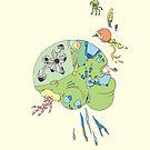 Celebrate Neurodiversity Poster by Leif Prime