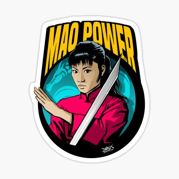 Kung-Fu Queen  Sticker