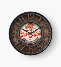 Texas Classic Brewing Pride Clock