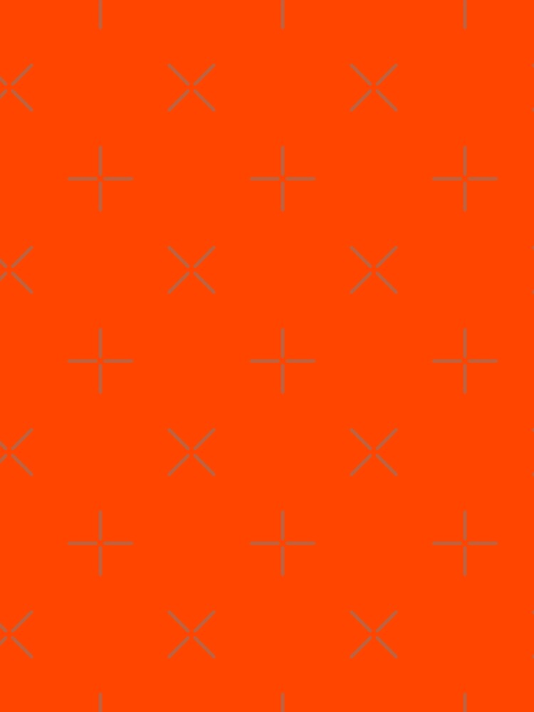 PLAIN ORANGE RED   SOLID COLOR ORANGE RED by ozcushions