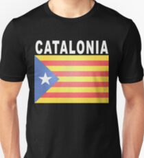 Catalonia Independence Vote Flag Unisex T-Shirt