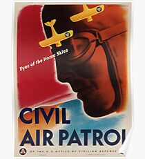 Vintage poster - Civil Air Patrol Poster