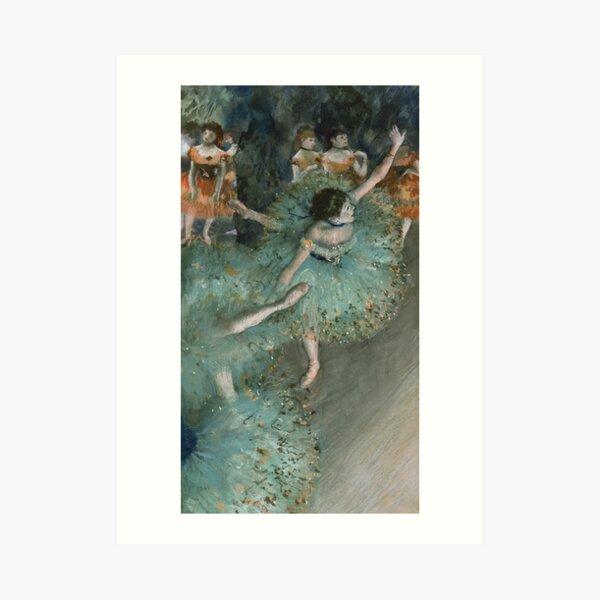 Swaying Dancer (Dancer in Green) by Edgar Degas Art Print