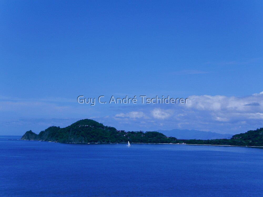 View from Playa Panama by Guy C. André Tschiderer