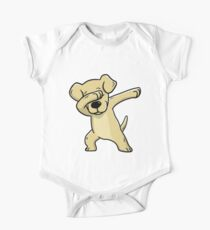 Dabbing Labrador Retriever Funny Kids Clothes