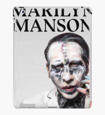 manson gembira marilyn iPad Case/Skin