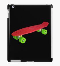 Cool Retro Skate - Red version iPad Case/Skin