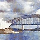 Sydney Harbour panorama by Fran Woods
