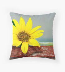 Small Sunflower Throw Pillow