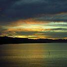 Solomon Islands Sunset by Kristin Hamm