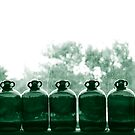 nine green bottles by Nicholas Averre