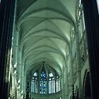 Choir of Cathedral Amiens France 1984082 0060  by Fred Mitchell