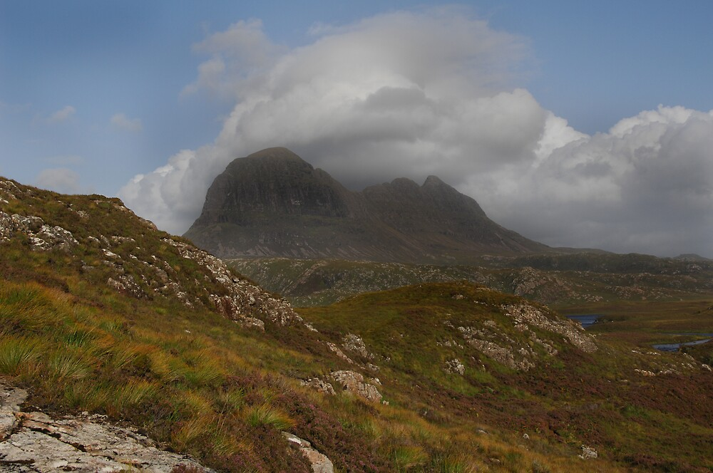 Suilven Under Afternoon Clouds by photobymdavey
