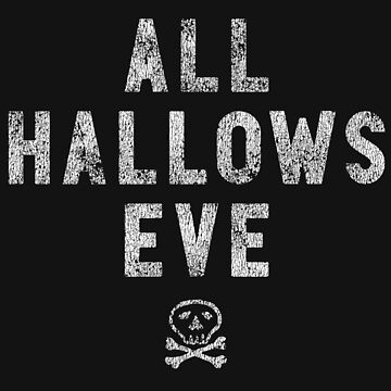 All Hallows Eve - halloween shirt by pollylopsicle