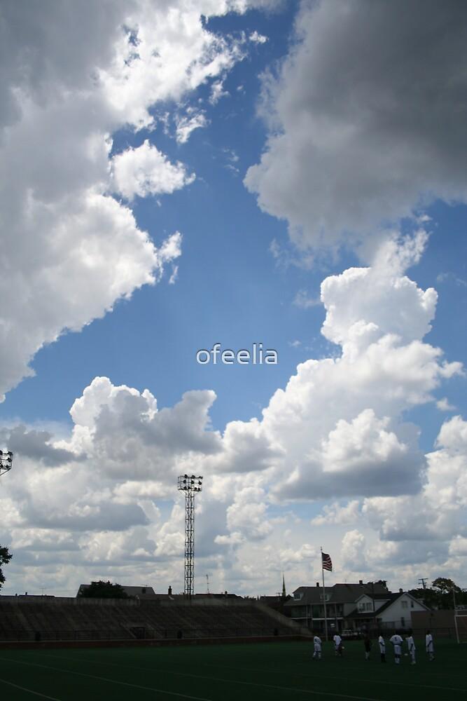 soccer sky  by ofeelia