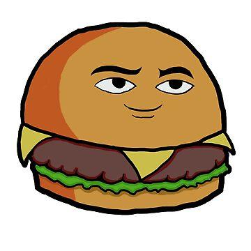 Delicious Burger by melowyelowlemon
