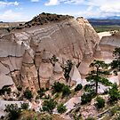 tent rocks by Bruce  Dickson