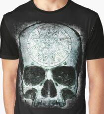 Occult Skull Graphic T-Shirt